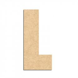 Lettre en bois à décorer L- Alphabet Hombre