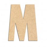 Lettre en bois à décorer M- Alphabet Hombre