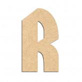 Lettre en bois à décorer R- Alphabet Hombre
