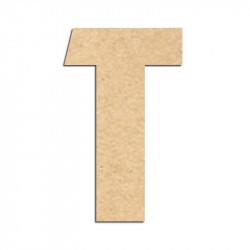 Lettre en bois à décorer T- Alphabet Hombre