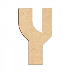 Lettre en bois à décorer Y- Alphabet Hombre