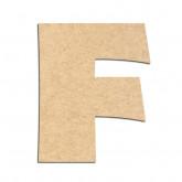 Lettre en bois à décorer F - Alphabet Jungle Fever