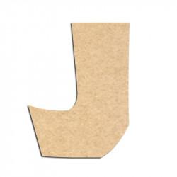 Lettre en bois à décorer J - Alphabet Jungle Fever