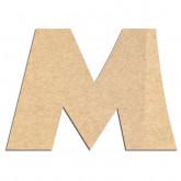 Lettre en bois à décorer M - Alphabet Jungle Fever