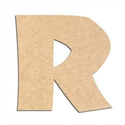 Lettre en bois à décorer R - Alphabet Jungle Fever