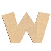 Lettre en bois à décorer W - Alphabet Jungle Fever
