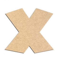 Lettre en bois à décorer X - Alphabet Jungle Fever