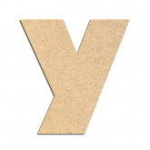 Lettre en bois à décorer Y - Alphabet Jungle Fever