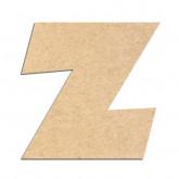 Lettre en bois à décorer Z - Alphabet Jungle Fever