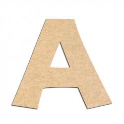 Lettre en bois à décorer A - Alphabet KG The Last Time