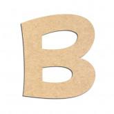 Lettre en bois à décorer B - Alphabet KG The Last Time