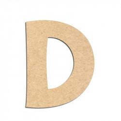 Lettre en bois à décorer D - Alphabet KG The Last Time