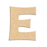 Lettre en bois à décorer E - Alphabet KG The Last Time