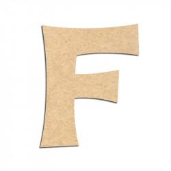 Lettre en bois à décorer F - Alphabet KG The Last Time
