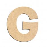 Lettre en bois à décorer G - Alphabet KG The Last Time