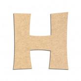 Lettre en bois à décorer H - Alphabet KG The Last Time