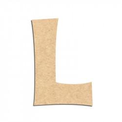 Lettre en bois à décorer L - Alphabet KG The Last Time