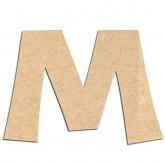 Lettre en bois à décorer M - Alphabet KG The Last Time