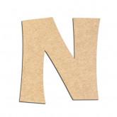 Lettre en bois à décorer N - Alphabet KG The Last Time