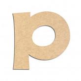 Lettre en bois à décorer P - Alphabet KG The Last Time