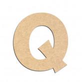 Lettre en bois à décorer Q - Alphabet KG The Last Time