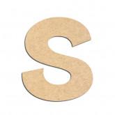 Lettre en bois à décorer S - Alphabet KG The Last Time
