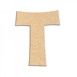 Lettre en bois à décorer T - Alphabet KG The Last Time