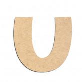 Lettre en bois à décorer U - Alphabet KG The Last Time