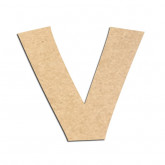 Lettre en bois à décorer V - Alphabet KG The Last Time