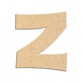 Lettre en bois à décorer Z - Alphabet KG The Last Time