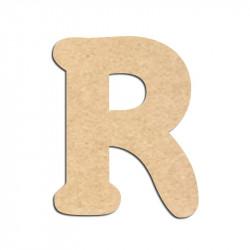 Lettre en bois à décorer R - Alphabet Merkin