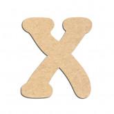 Lettre en bois à décorer X - Alphabet Merkin