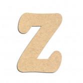 Lettre en bois à décorer Z - Alphabet Merkin