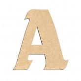 Lettre en bois à décorer A- Alphabet Seabird