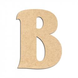Lettre en bois à décorer B- Alphabet Seabird