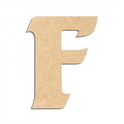 Lettre en bois à décorer F - Alphabet Seabird