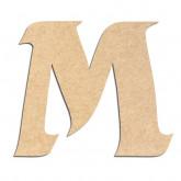 Lettre en bois à décorer M - Alphabet Seabird