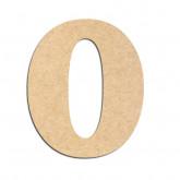 Lettre en bois à décorer O - Alphabet Seabird