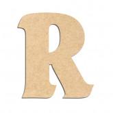 Lettre en bois à décorer R - Alphabet Seabird