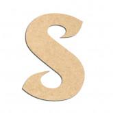 Lettre en bois à décorer S - Alphabet Seabird