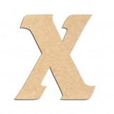 Lettre en bois à décorer X- Alphabet Seabird
