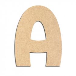 Lettre en bois à décorer A- Alphabet Treasure
