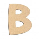 Lettre en bois à décorer B- Alphabet Treasure