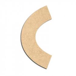 Lettre en bois à décorer C - Alphabet Treasure