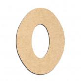 Lettre en bois à décorer O - Alphabet Treasure