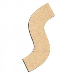 Lettre en bois à décorer S - Alphabet Treasure