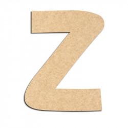 Lettre en bois à décorer Z - Alphabet Treasure