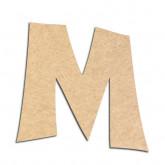 Lettre en bois à décorer M - Alphabet VTC