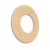Lettre en bois à décorer O - Alphabet VTC