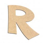 Lettre en bois à décorer R - Alphabet VTC
